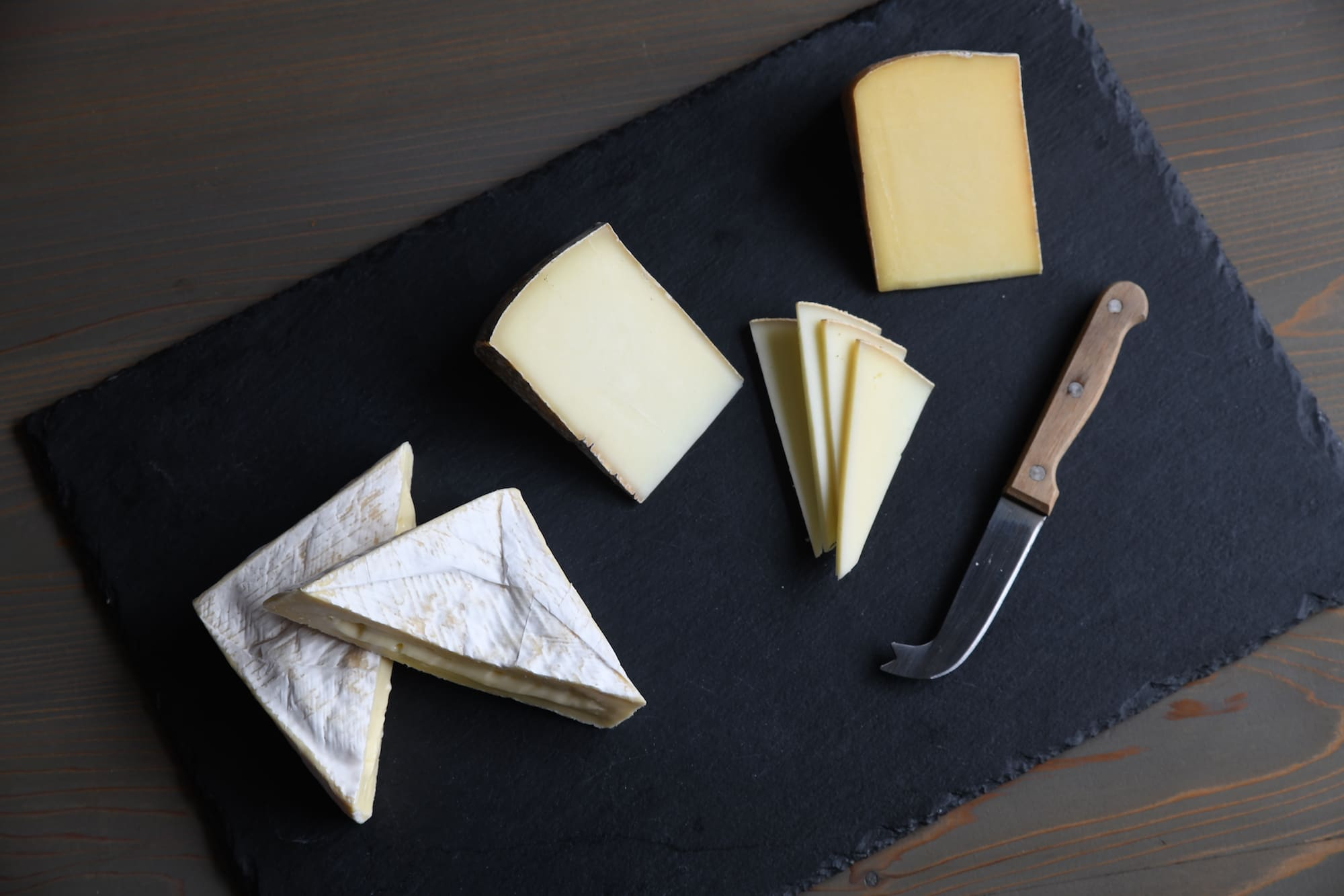 Try several of Green Dirt Farm's blended milk and 100% sheep milk cheese with the Aged Cheese Collection.