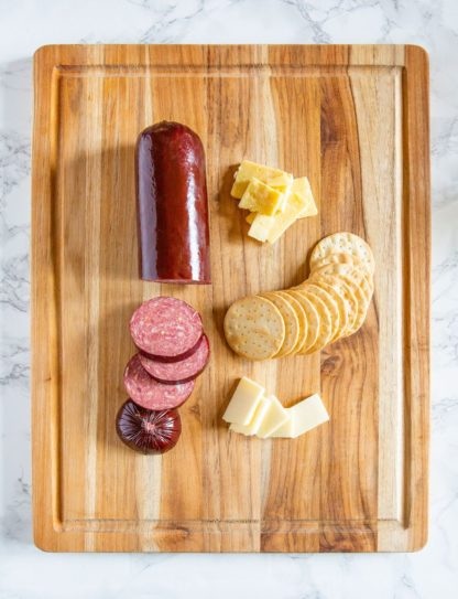 Green Dirt Farm partners with KC Cattle Company to bring you the ultimate charcuterie board complete with sheep cheese.